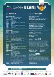 The program Speaker sessions 2013 Green Bean ... - Cafe Culture