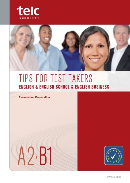Tips for Test Takers A2-B1 (PDF, 1 - telc GmbH