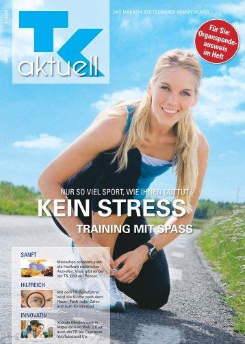 TK aktuell Nr. 2 - 2012. Das Magazin der Techniker Krankenkasse