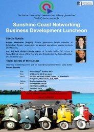 Business Development Luncheon