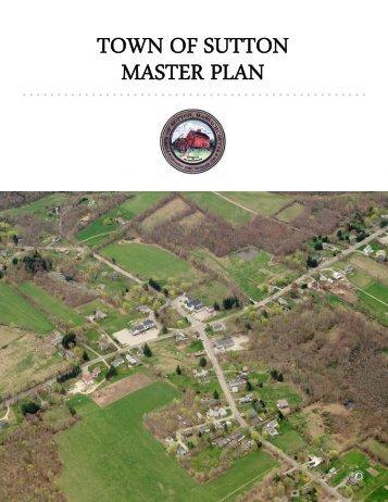 TOWN OF SUTTON MASTER PLAN