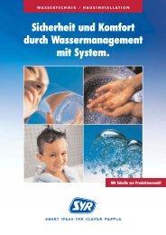 Sicherheit und Komfort durch Wassermanagement mit System. - Syr