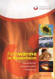 Fernwärme-Broschüre - Stadtwerke Rosenheim