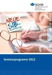 Tätigkeitsbezogene Seminare (TS)
