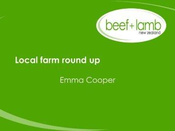 Local farm round up