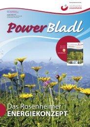 POWERbladl 36 - Stadtwerke Rosenheim