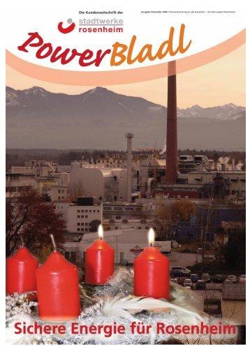 POWERbladl 15 - Stadtwerke Rosenheim