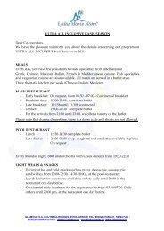 ULTRA ALL INCLUSIVE ENGLISH 2011 - Lydia Maris