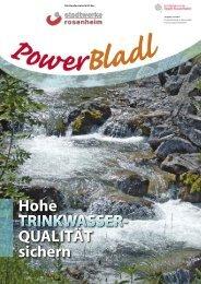 POWERbladl 33 - Stadtwerke Rosenheim