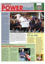 POWERbladl 3 - Stadtwerke Rosenheim
