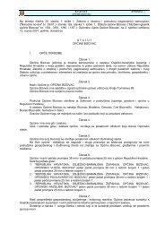 Na temelju članka 35 - Općina Bizovac