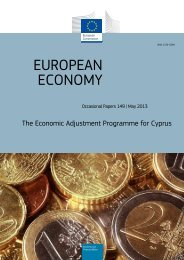 the economic adjustment programme for Cyprus - European Stability ...