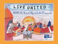 2010/2011 Annual Report - United Way of Western Connecticut