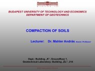 COMPACTION OF SOILS