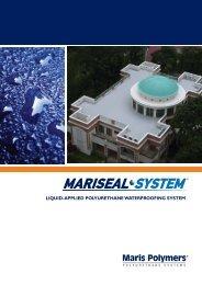 liquid-applied polyurethane waterproofing system - Maris Polymers