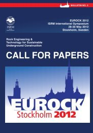 Call foR papeRS - ISRM