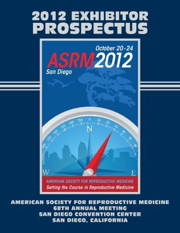 2012 asrm product theater application - American Society for ...