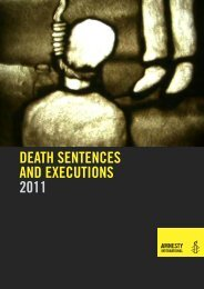 death sentences and executions 2011