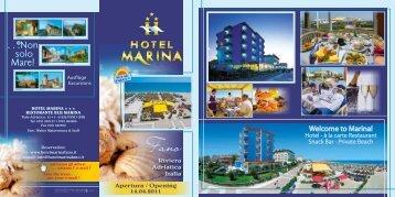 Listino prezzi - Preisliste - Liste de prix - Hotel Marina
