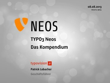 TYPO3 Neos Das Kompendium