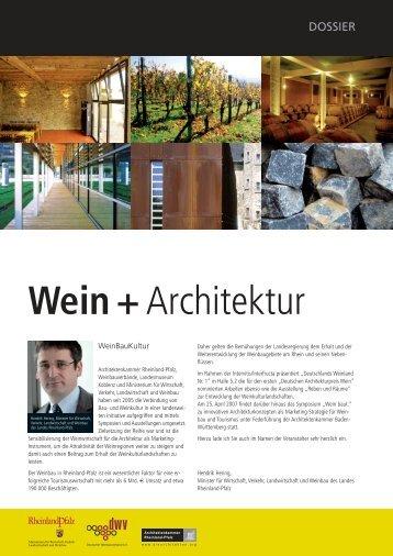 Wein + Architektur