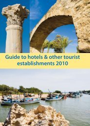 Guide to hotels & other tourist establishments 2010