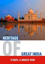 hERitagE gREat iNDia - Mann Travel