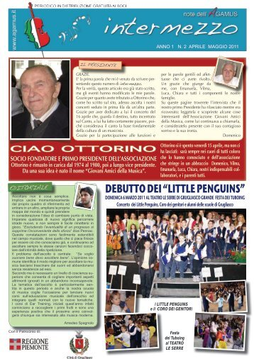 "DEBUTTO DEI ""LITTLE PENGUINS"""