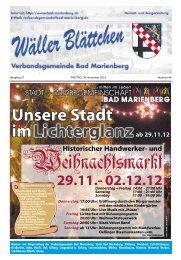 Heimat- und Bürgerzeitung der Verbandsgemeinde Bad Marienberg ...