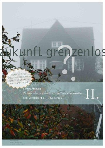 Seminarzeitung - Alfred-Grosser-Schulzentrum Bad Bergzabern