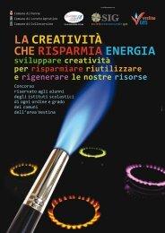 LA CREATIVITÀ CHE RISPARMIA ENERGIA