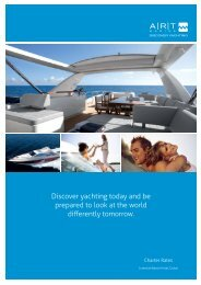 Discover yachting today and be prepared to look at the ... - ART Marine