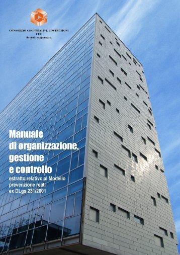 Manuale di organizzazione gestione e controllo
