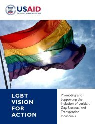 LGBT VISION FOR ACTION