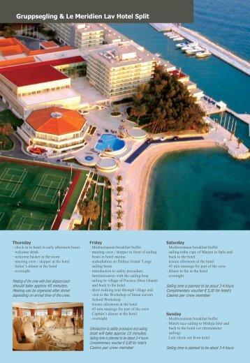 Ban Tours Yachting & Le Meridien Lav Hotel Split - Chilla Travel ...