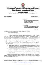 Circolare Parità 2013-2014 - Ufficio Scolastico Regionale per l ...
