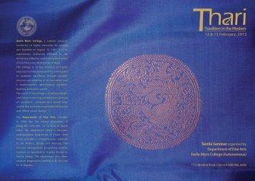 1.THARI Flyer - Stella Maris College