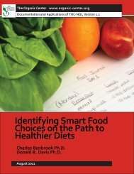 Identifying Smart Food Choices on the Path to Healthier Diets