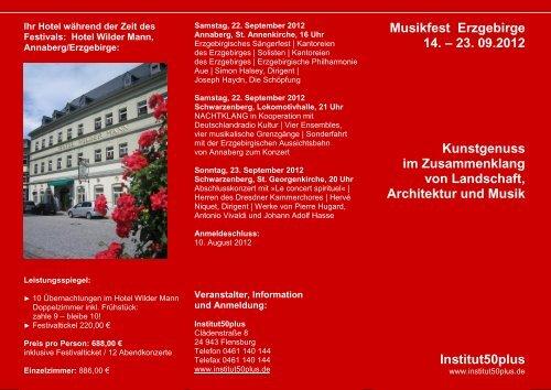 Musikfest Erzgebirge 2012 - Institut50plus