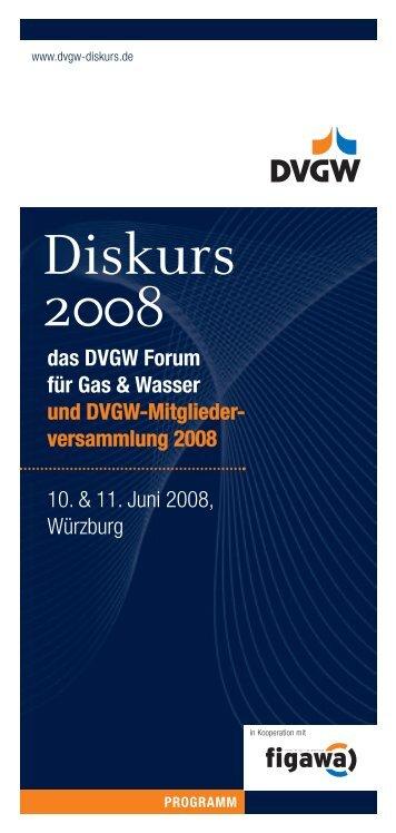 103462 612 Programm RZ:Layout 1 - DVGW - Deutscher Verein des ...