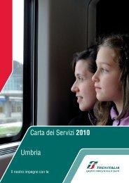 Carta dei Servizi 2010 Umbria