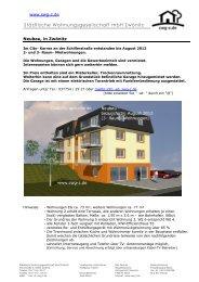 City-Karree Neubau 2012 - swg-z.de
