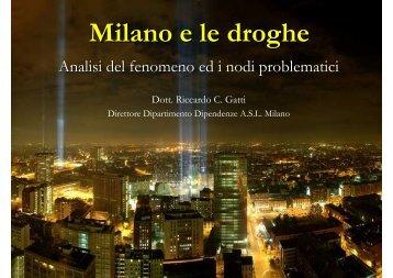Milano e le droghe