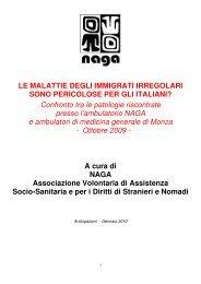 Le malattie degli immigrati irregolari sono pericolose per gli ... - Anolf