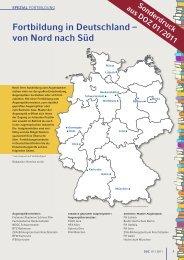Fortbildung In Deutschland – Von Nord Nach Süd - Zentralverband ...