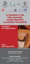 Programma - Istituto Toscano Tumori