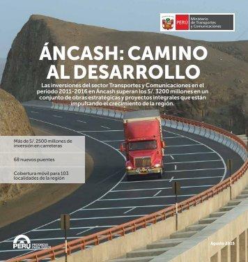 ÁNCASH CAMINO AL DESARROLLO
