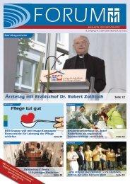 Ärztetag mit Erzbischof Dr. Robert Zollitsch - Barmherzige Brüder ...