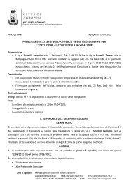 Copia di Copia di pubblicazione domanda di concessione lido ...