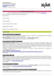 IG AR News – Settembre 2013 Iscriviti alla Newsletter mensile di ...